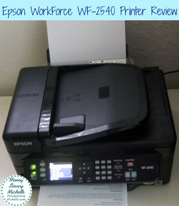 Epson WorkForce WF-2540 Printer Review