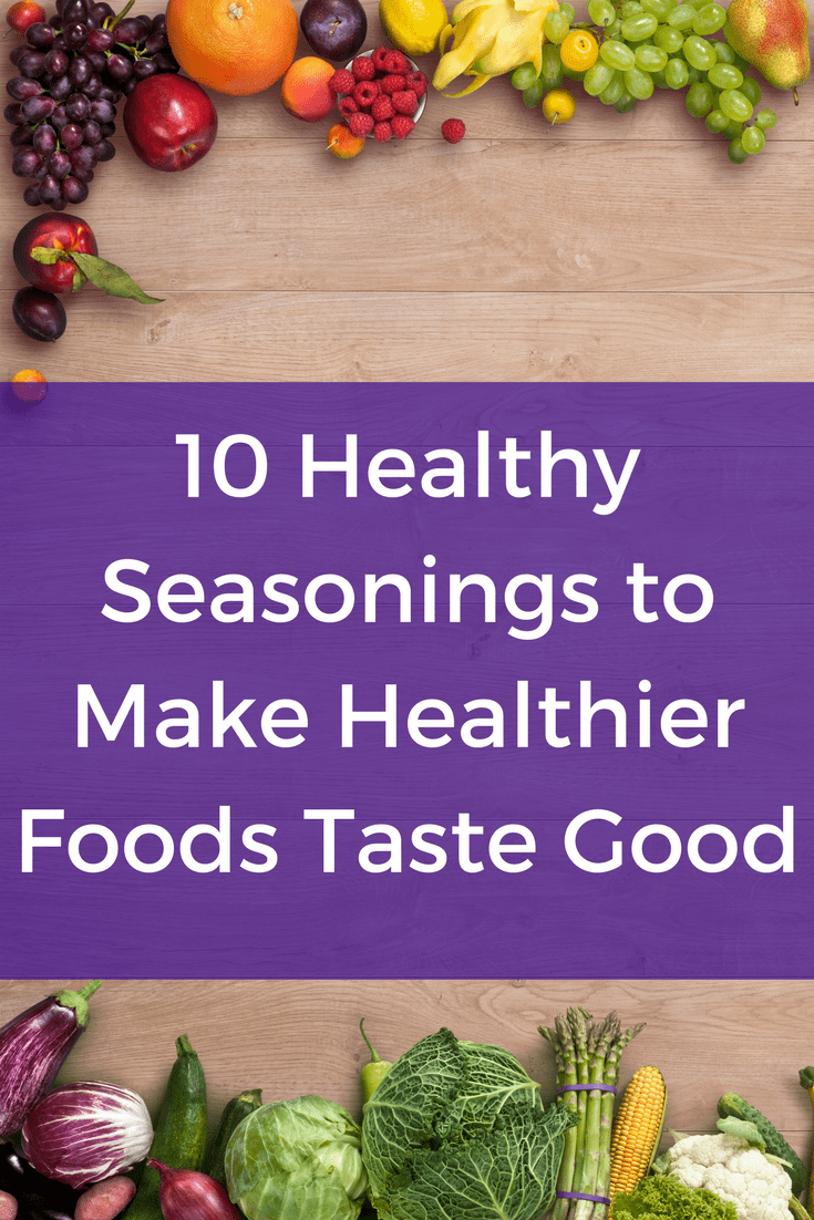 10 Healthy Seasonings to Make Healthier Foods Taste Good - healthy eating, healthy foods, healthy eating ideas, healthy eating tips