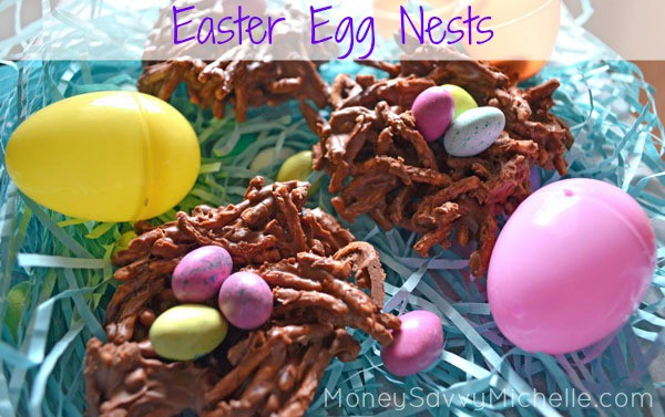 Chow Mein Easter Egg Nests