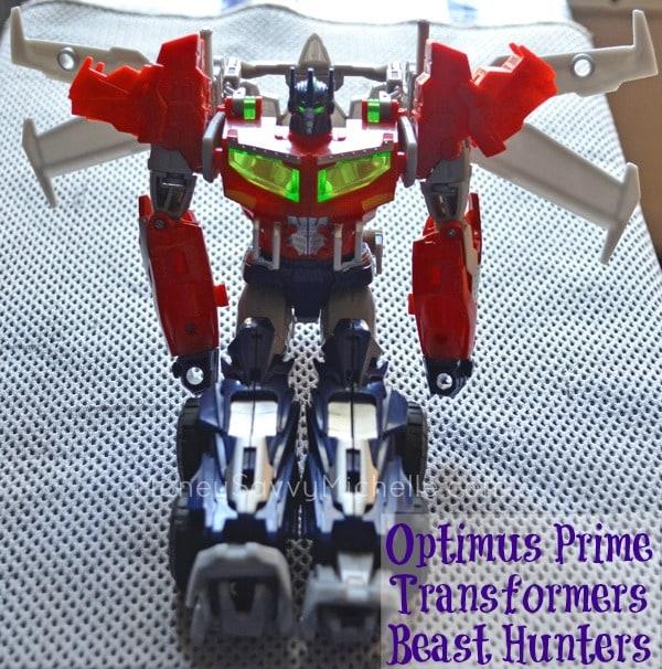 Optimus Prime Transformers Beast Hunters Review