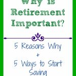 why-is-retirement-important