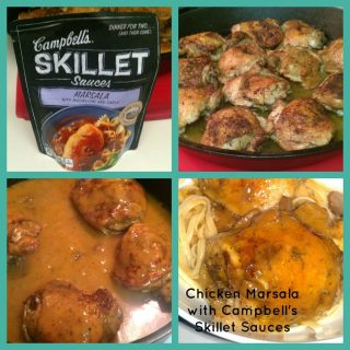 Chicken Marsala with Campbell's Skillet Sauces Review