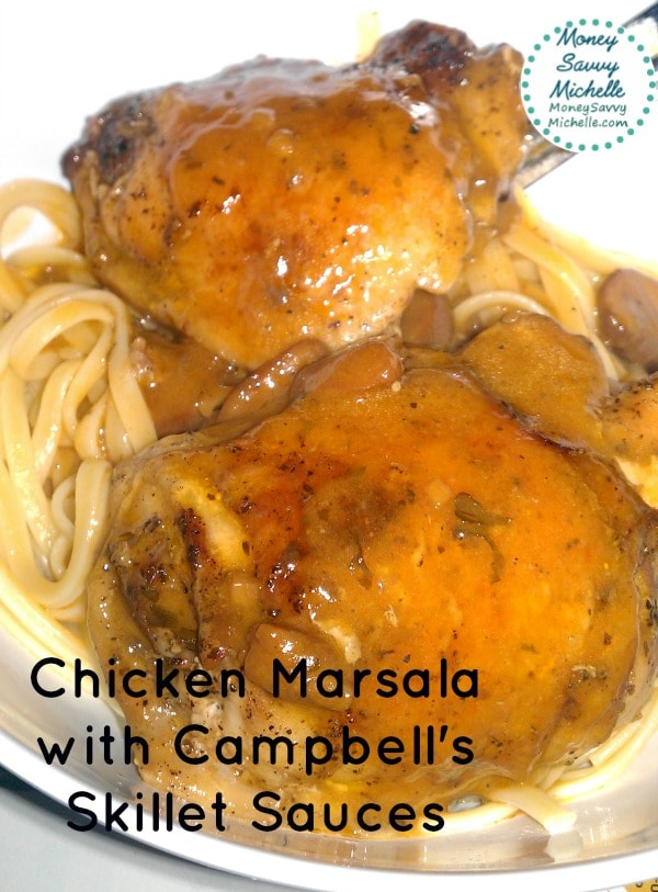 Campbell's Skillet Sauces Review - Quick Chicken Marsala