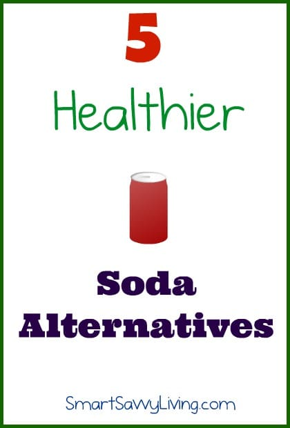 5 healthier alternatives to soda