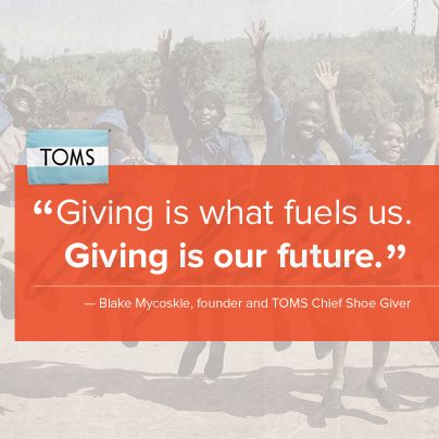 giving is our future