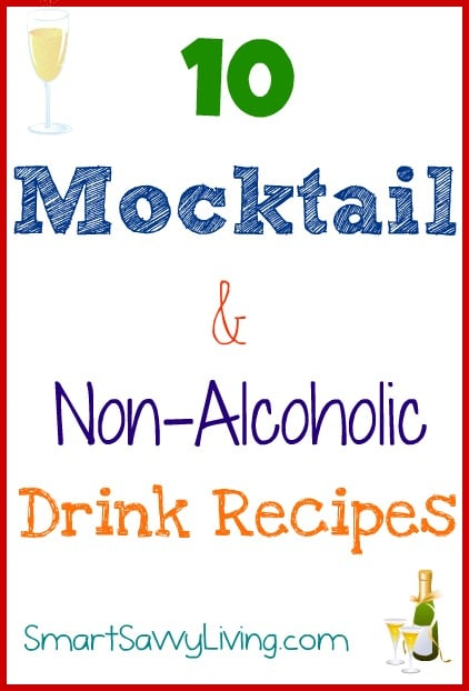 10 mocktail recipes and non alcoholic drink recipes