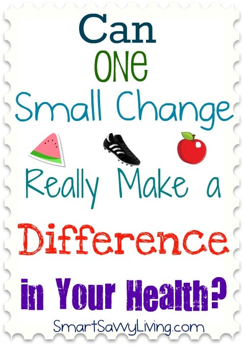 Can One Small Change Really Make a Difference in Your Health: 2 Week Update