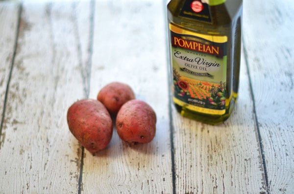 Easy Oven-Roasted Potatoes Recipe with Pompeian Olive Oil