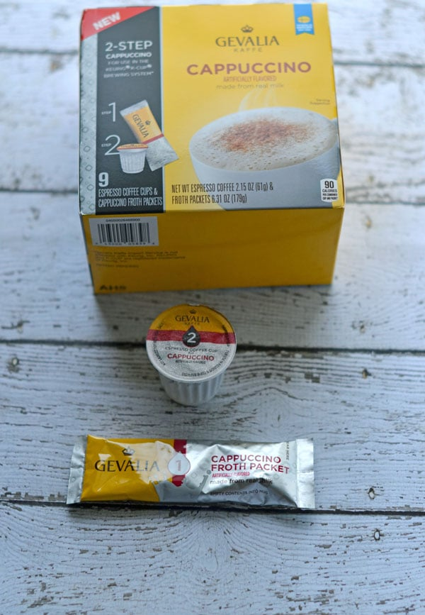 Triple Chocolate Cappuccino - How I Indulge with Gevalia Coffee #shop