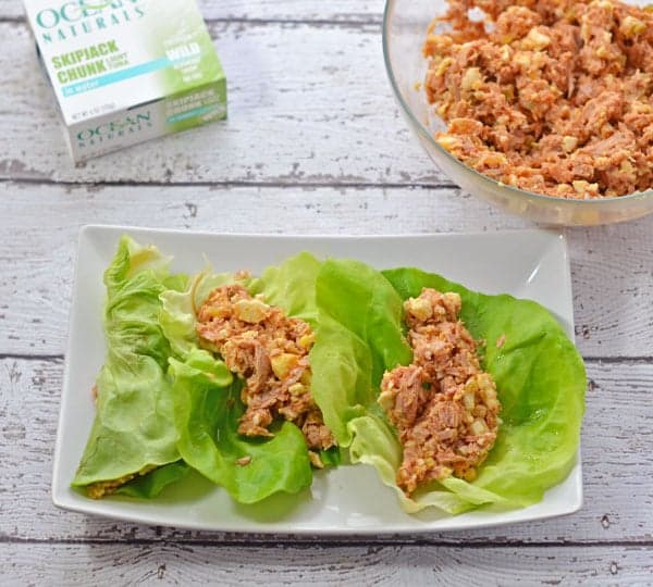 Spicy Tuna Lettuce Wraps #Shop