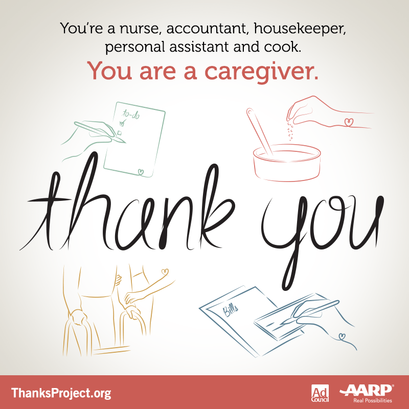 Thank You Quotes For Caregivers: November Is National Family Caregiver Month