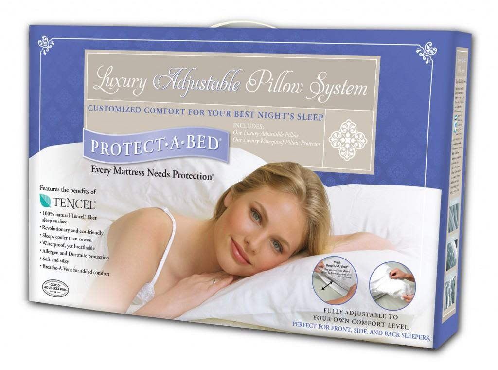 Protect-A-Bed Luxury Adjustable Pillow Review