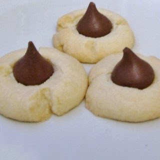 Shortbread-Hershey-Kiss-Cookies