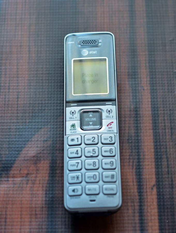 AT&T CLP99383 Handset Connect to Cell Answering System Review