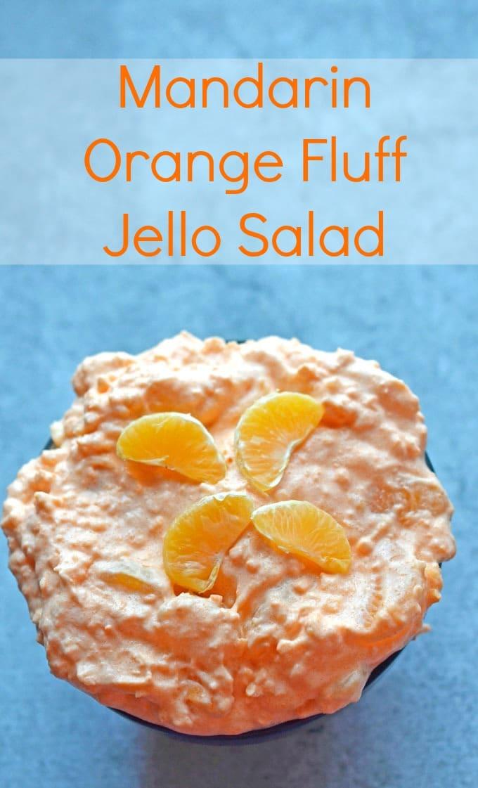 mandarin orange jello fluff salad