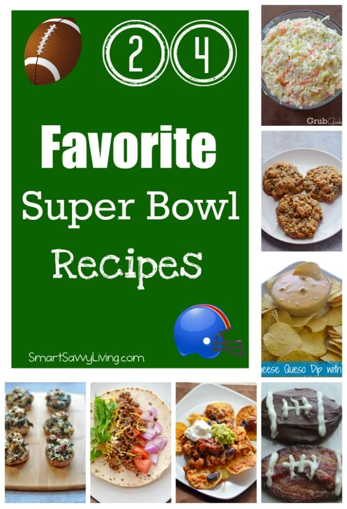 24 Favorite Super Bowl Recipes | SmartSavvyLiving.com