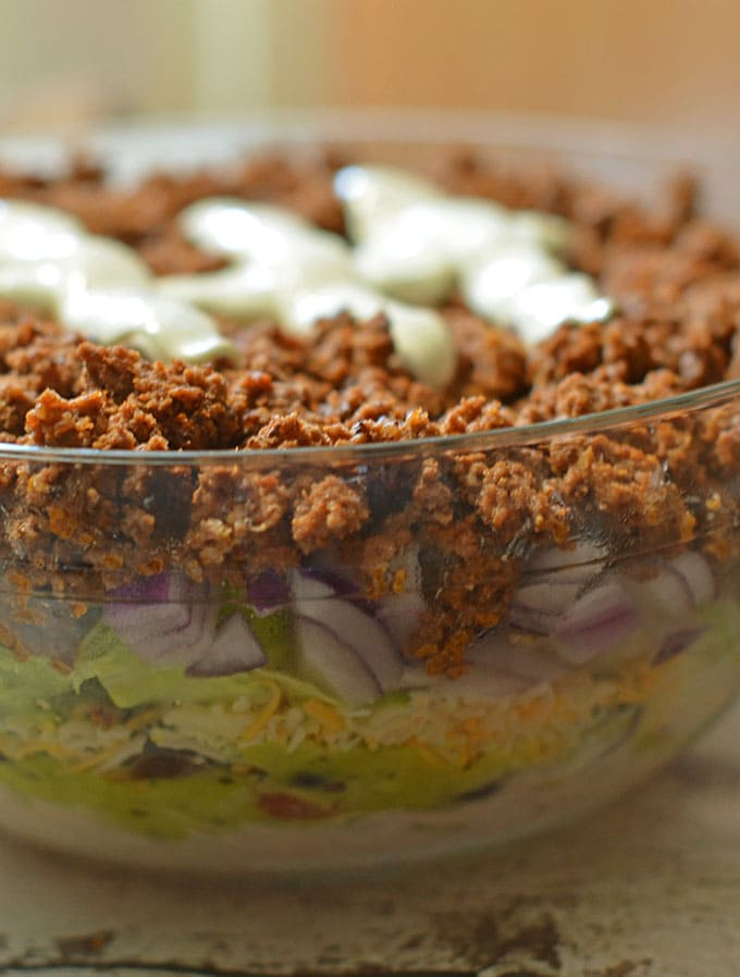Beefy 7 Layer Dip Recipe