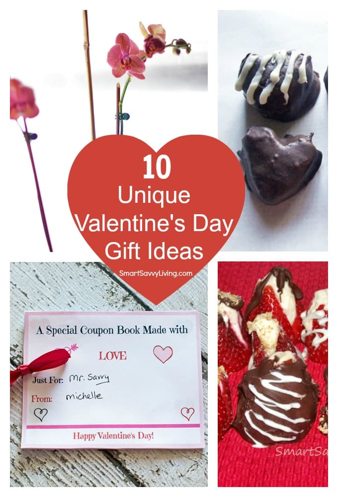 10 Unique Valentine's Day Gift Ideas | SmartSavvyLiving.com