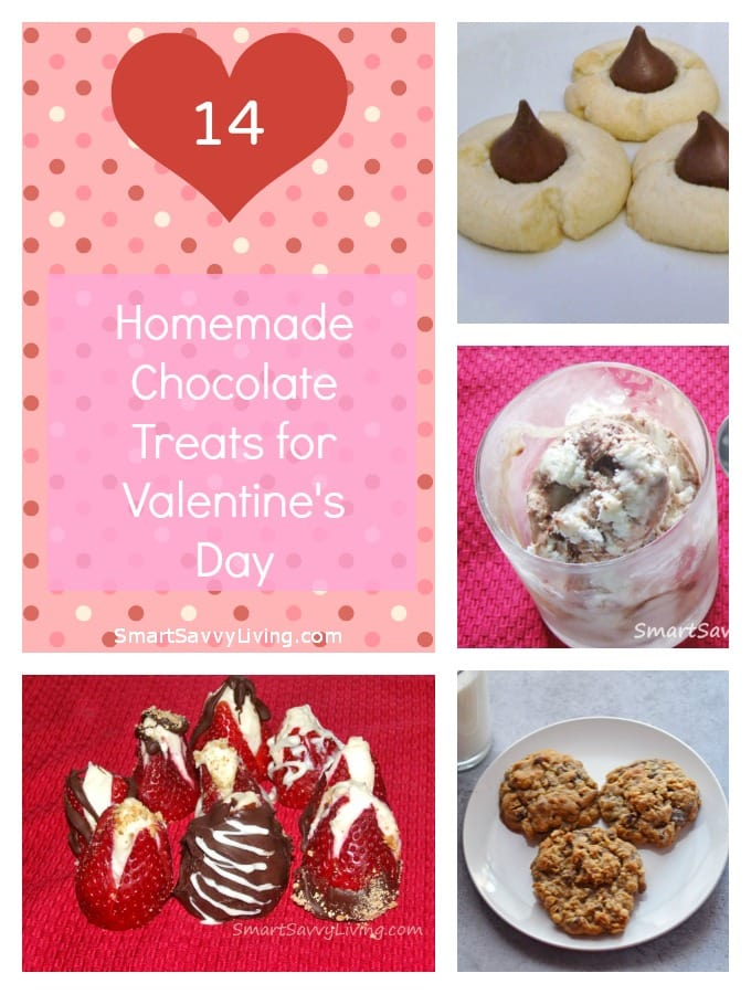 14 Homemade Chocolate Treats for Valentine's Day | SmartSavvyLiving.com