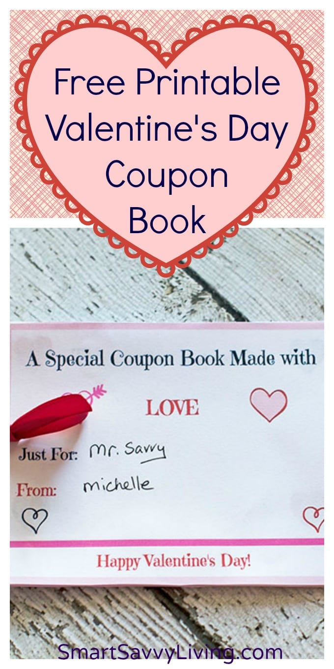 Free Printable Valentine's Day Coupon Book with Customizable Sheets