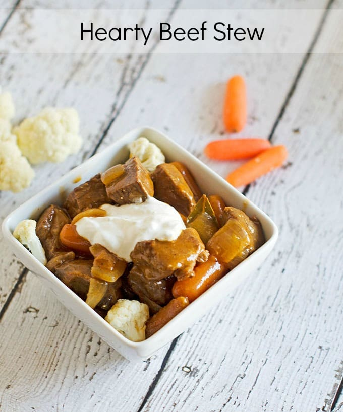 Recipe Rehab: Beef Stew with Barley VS Hearty Beef Stew | SmartSavvyLiving.com