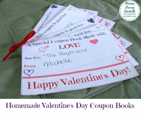 Free Printable Valentine S Day Coupon Book
