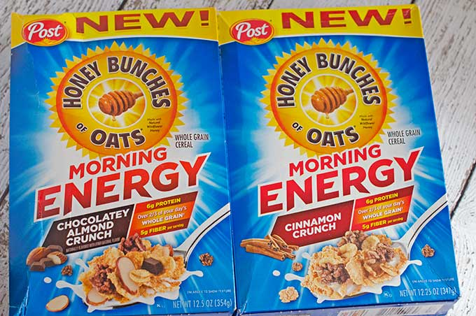 Honey Bunches of Oats Morning Energy Cereal Review