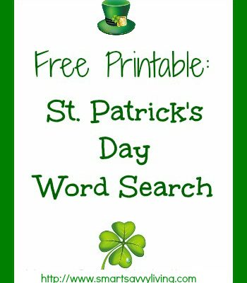 Free Printable St. Patrick's Day Word Search