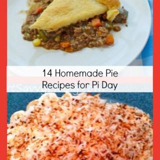 14 homemade pie recipes for pi day