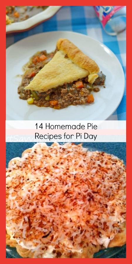 14 Homemade Pie Recipes for Pi Day | SmartSavvyLiving.com