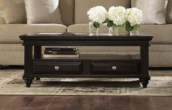 Havertys Panama Coffee Table | SmartSavvyLiving.com