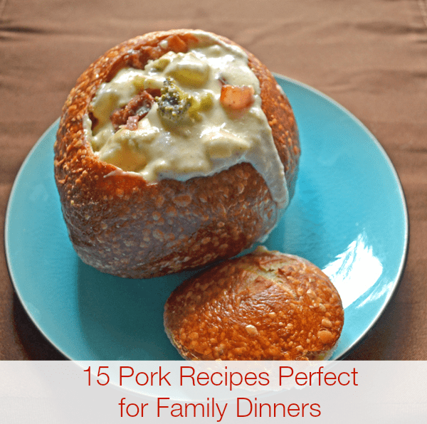 15 Pork Recipes for Family Dinners | SmartSavvyLiving.com