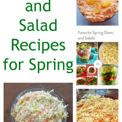 20 Spring Slaw and Salad Recipes
