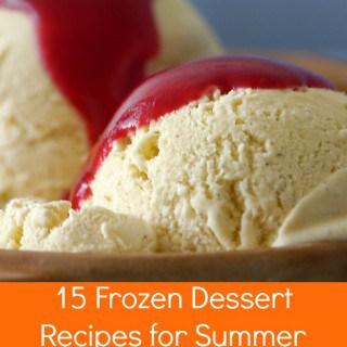 15 frozen dessert recips for summer
