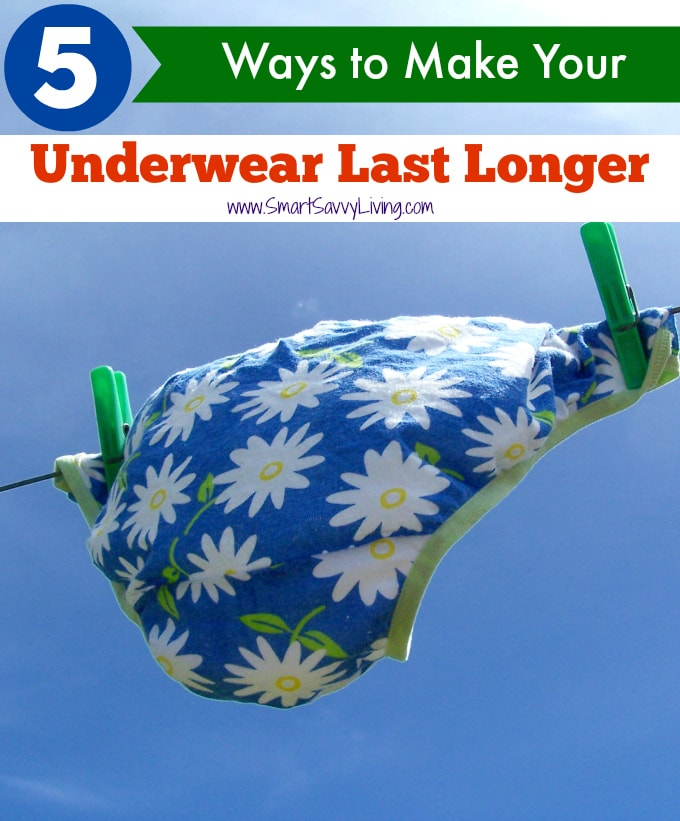 5 Ways to Make Your Underwear Last Longer