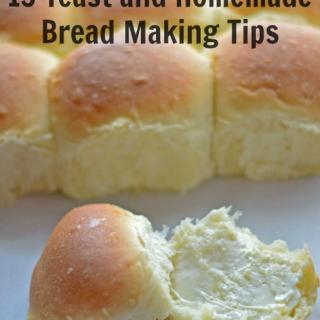 15 yeast and homemade breadmaking tips