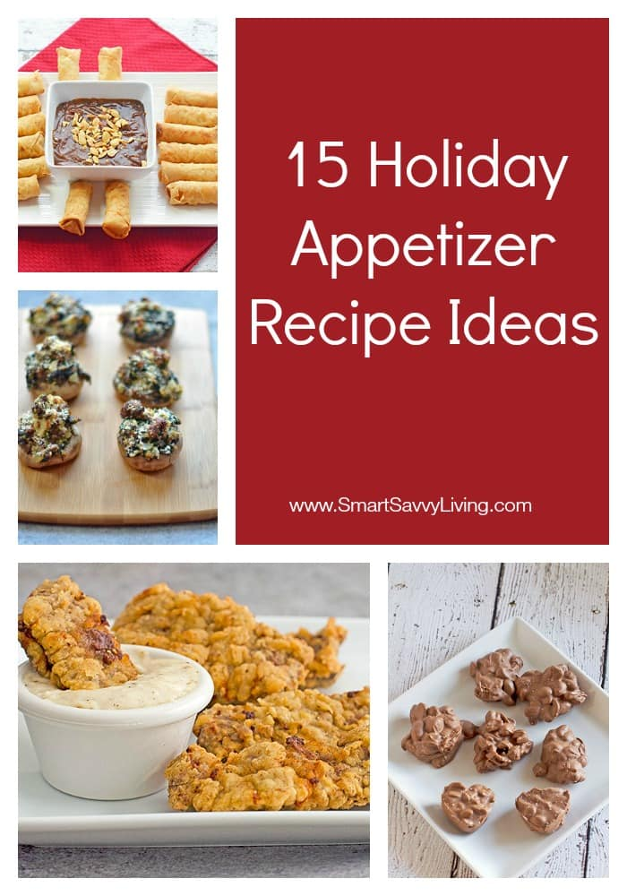 15 Holiday Appetizer Recipe Ideas