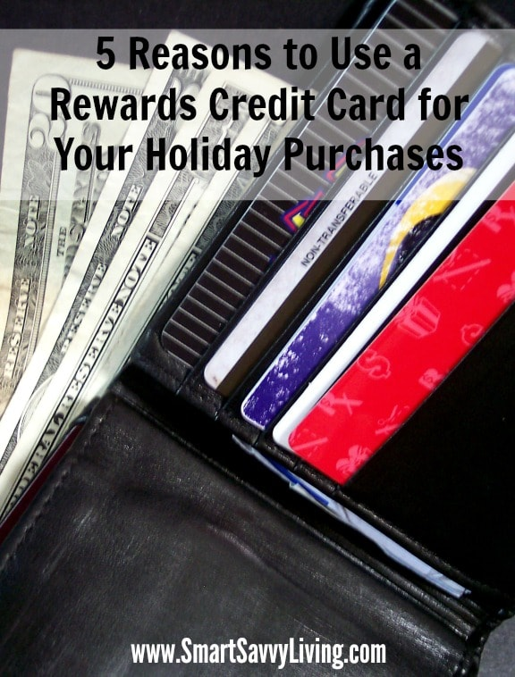 5 Reasons to Use a Rewards Credit Card for Your Holiday Purchases