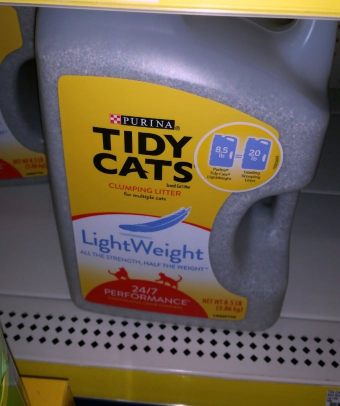 Great Deal on Tidy Cats Lightweight Litter + Giveaway (Ends 12/8/14)