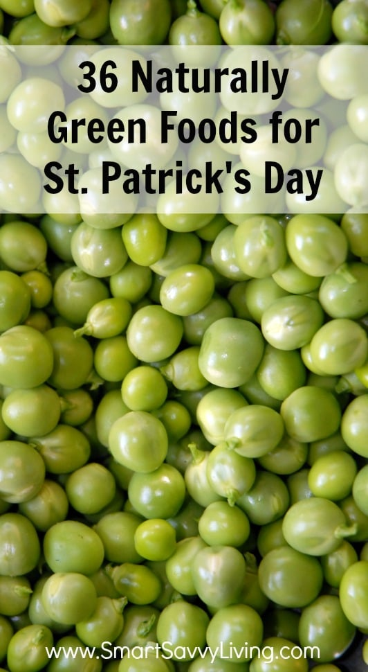 List Of Green Foods For St Patrick S Day