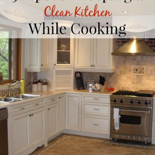 5 Tips for Keeping a Clean Kitchen While Cooking