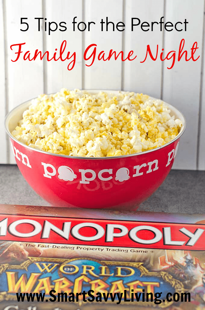 5 Tips For The Perfect Family Game Night