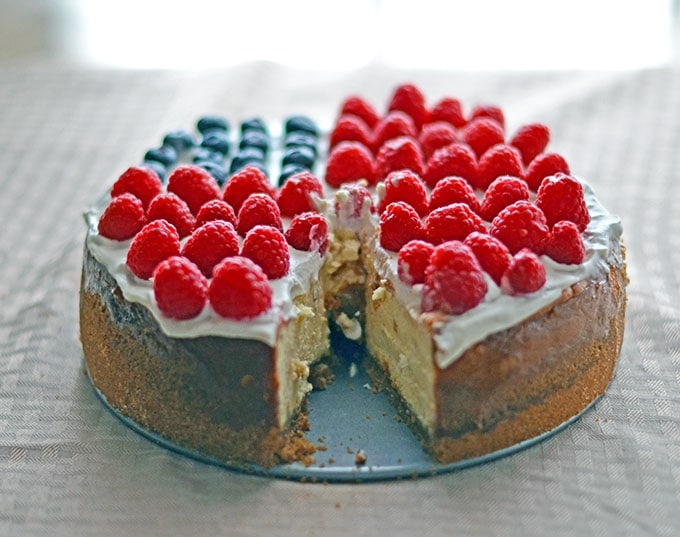 American Flag Cheesecake Recipe