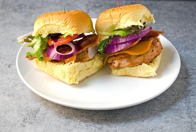 5 Ingredient Cranberry BBQ Turkey Sliders