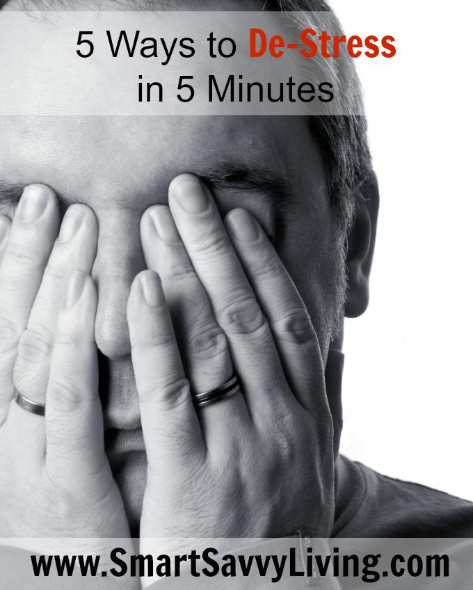 5 Ways to De-Stress in 5 Minutes