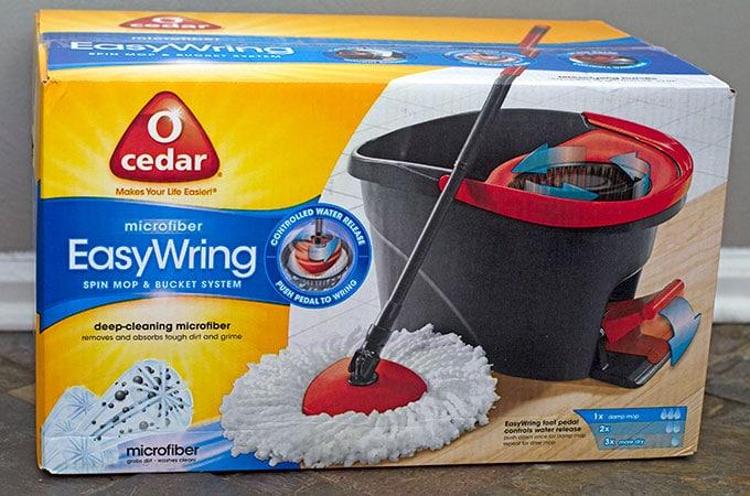 O'Cedar Easy Wring Spin Mop Review