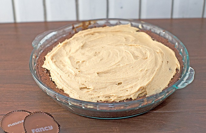Peanut Butter Pie with Brownie Crust Recipe