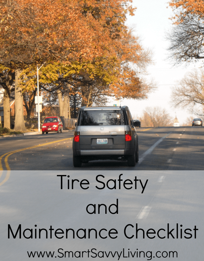 Tire Safety and Maintenance Checklist