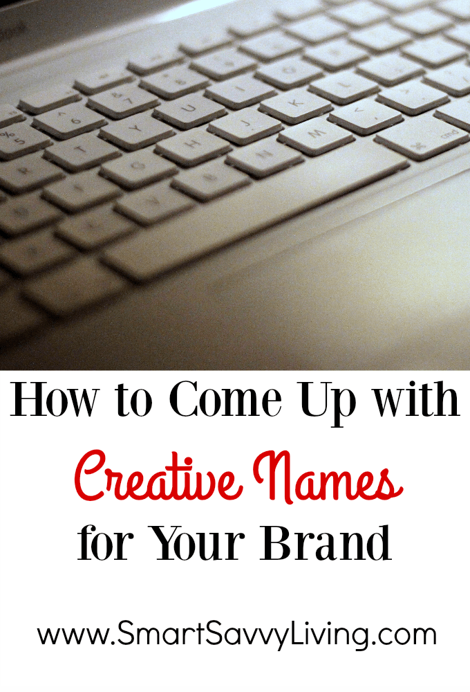 How to Come Up with Creative Names for Your Brand | Whether you're looking to start a catering, crafts, gardening or any other business, a clever, memorable name is one of the most important building blocks to any smallbiz. Notcom