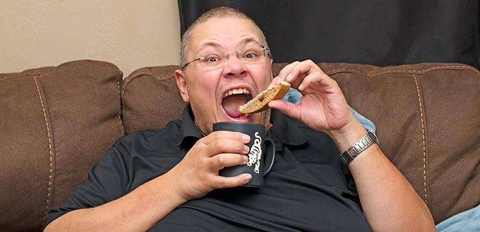 Mr-savvy-eating-biscotti
